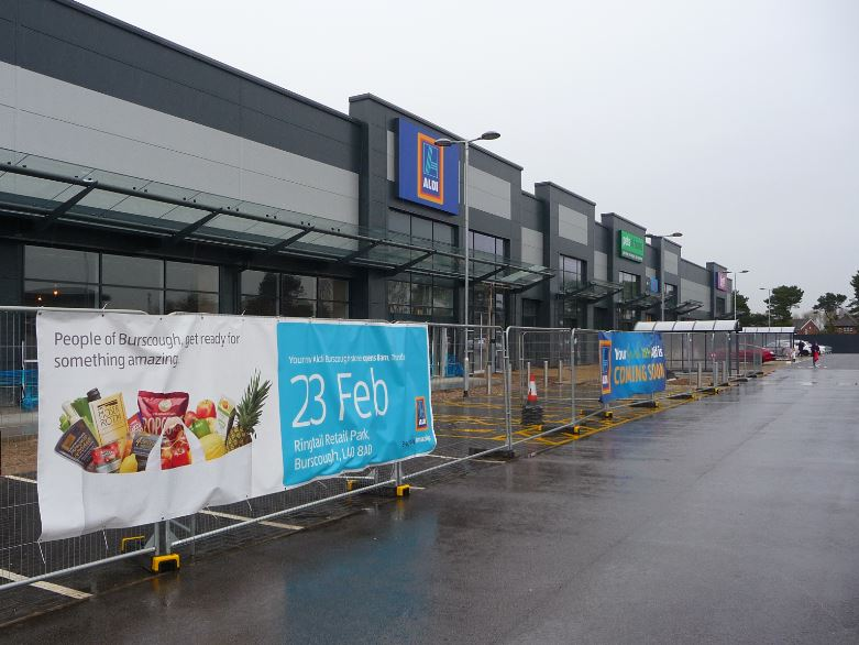 A number of select staff at Ormskirk Aldi are celebrating after being told they'll be moving to its new flagship store in Burscough.    It's just six weeks before the new store - next to Booths - opens it doors with ALL Aldi staff are thrilled with the news it'll soon be the highest paying UK...