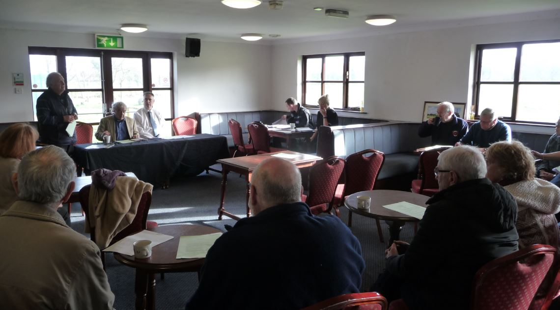 Lancashire's busy Police and Crime Commissioner spared an hour out of his crowded schedule last Monday for what's believed to be his first public meeting in Burscough.            He called in for an hour long discussion about matters of concern in the parish which was held at the village cricket...
