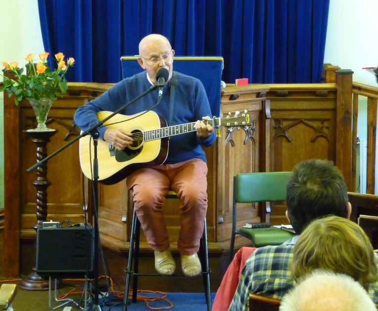 A well known evangelist brought a 'breath of fresh air' to a country church's harvest celebration on Sunday afternoon.            And a small but appreciative congregation met at Scarisbrick's Drummersdale Mission to remember once again God's goodness in His provision of blessings both physical and...