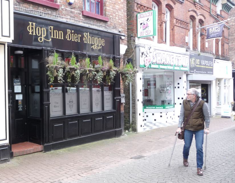 What does the future hold for a popular town centre bar that's now closed?    The Hop Inn Bier Shoppe on busy Burscough St. shut its doors over a fortnight with the business sold as by Mike McCombe of Hop Vine fame.            It opened four years ago and carved a distinctive niche in the Ormskirk...