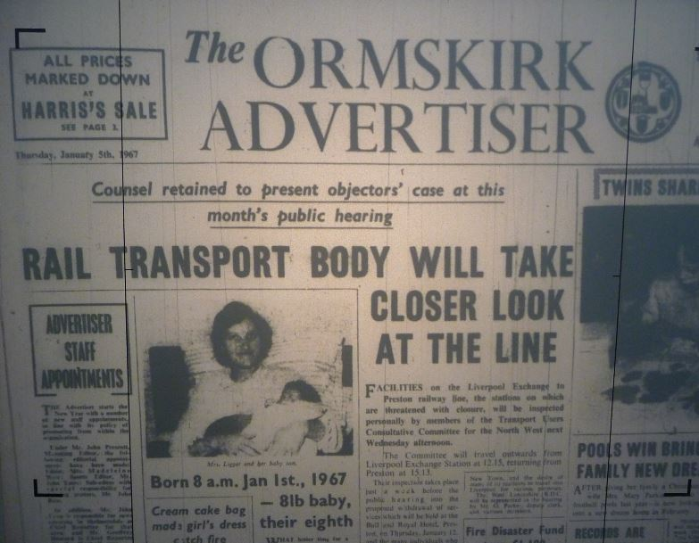 Do you remember when Ormskirk had its own council, a Magistrates court, one of Lancashire's best open markets and lots of independent shops?     The days when you could drive through the town – and park for free outside the shops! – enjoy a film at its own cinema, and when half day closing on a...