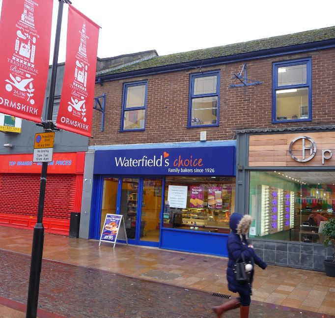Notices have appeared in the windows of a well known ormskirk bakers shop announcing its imminent demise.        Waterfields will close tomorrow after around 30 years in the town; it moved into its current Moor St shop after originally opening at the end of Aughton St.    The fate of its staff is...