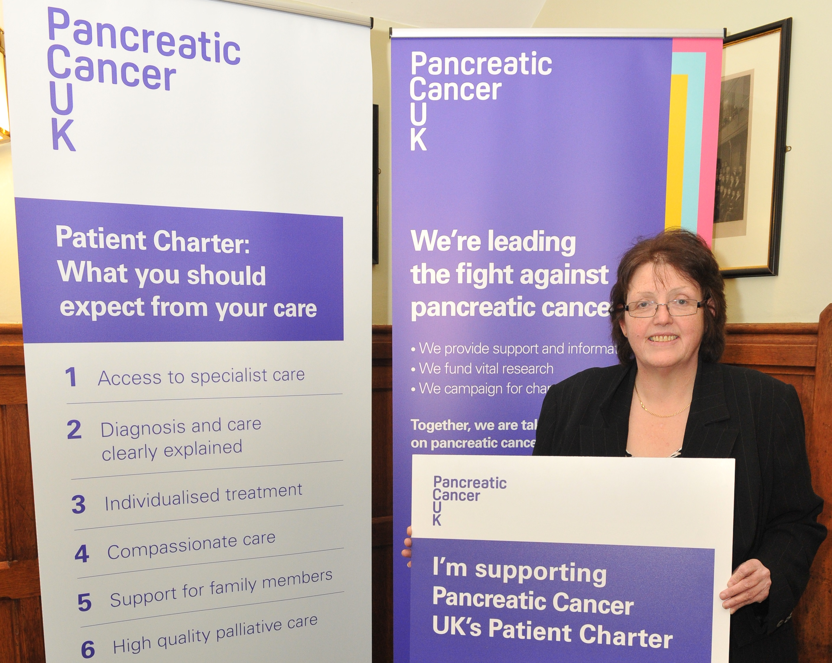 Rosie Cooper MP, met patients and families at a packed event in Parliament as Pancreatic Cancer UK launched the first ever Patient Charter aimed at making better care a reality for all.        Rosie heard that despite more than 9,400 new cases of pancreatic cancer now diagnosed throughout the UK...