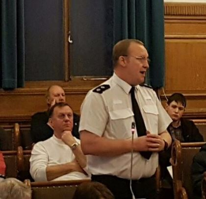 The private security firm 'Battle Investigations' has contributed no known benefit towards the security of Southport's town centre, the Southport Area Committee was told last night during the town's quarterly police forum.        Sefton North Inspector Graham Fisher    Replying to questions at the...