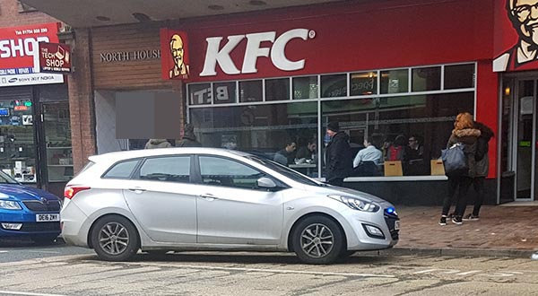 At Wednesdays area committee meeting during the police forum Inspector Graham Fisher said that as a result of anti social behaviour KFC may install  deterrent speakers.    The speakers are said to Â'screamÂ' at such a high frequency it is only audible to people under the age of 25.