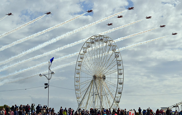 The 2017 flying schedule for the Red Arrows has been announced and Southport is not on the list.        A spokesperson for Southport Air Show said...