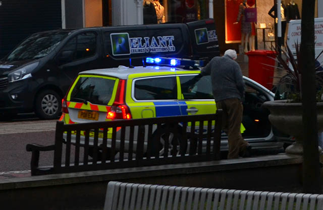The emergency services were called to Lord Street Southport this morning after a pedestrian was hit by a Rover car close to Sainsbury's.The impact from the collision left a large dint in the windscreen of the Rover.    Suffering from a head injury the pedestrian was taken to hospital by...