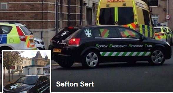 Lee Hayes from Southport has established his own private security patrol.    The Sefton Emergency Response Team (S.E.R.T.) have a vehicle which will be patrolling the streets of Southport.        The Police and the Council have distanced themselves from Mr Hayes. His profile picture on Facebook...