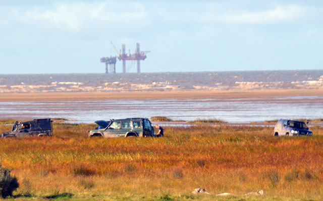 Several 4 x 4 vehicles are stuck on Birkdale Beach. The drivers of the vehicles are believed to have been off roading during the night when they became stuck.    Officers from Merseyside Police are in attendance as it is an offence to drive on the beach without a permit.    Efforts will be made to...