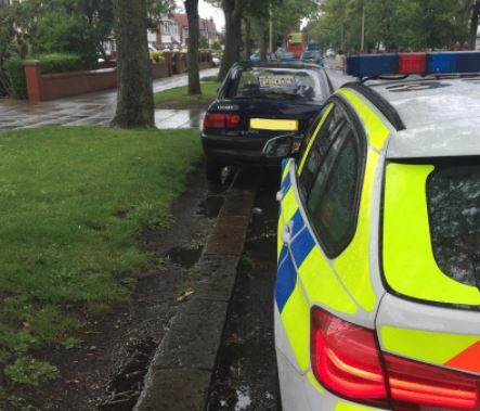 The driver of this Ford Escort thought it acceptable to drive whilst not insured or taxed in Southport. Vehicle seized and male reported.