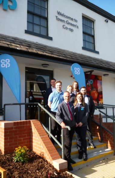 They might be 'good with food' but the Co-op's even better at transforming tired old pubs into fantastic community stores!    Visitors were amazed at the transformation of the Cockbeck in Town Green when they were invited to a community preview night to meet manager Dan Lee and staff along with a...
