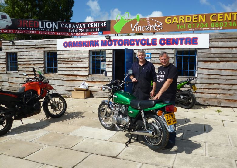 A well known Ormskirk business has made a Â'classicÂ' move to open in Scarisbrick.    The Ormskirk Motorcycle Centre was a fixture on Wigan Road and will be remembered by many as Herrington & Parker motorcycles which opened back in 1963. It then changed hands in 1988 and became Ormskirk Motorcycle...