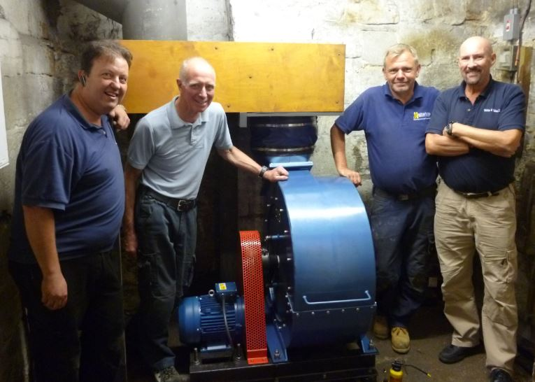 Report from Mark Rawsthorn    After 90 years of continuous service, the electric blowing plant which supplies the wind for the organ in Ormskirk Parish Church finally gave out completely, rendering the instrument silent.      This organ, the largest church organ in Lancashire, requires a huge...