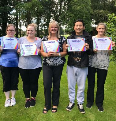 Stocks Hall Nursing & Care Group have recently embraced and completed Older & Out - LGBT awareness training.    The training - given by Age Concern Central Lancashire - seeks to increase awareness and give greater understanding of (especially older) lesbian, gay, bisexual and transgender people.  ...