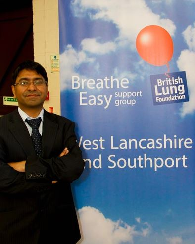 Report and photo from Trish Ireland    At our most recent meeting, our guest speaker was local respiratory consultant, Dr. Banerjee, who gave us a very interesting talk and answered questions from the audience.     He focussed his talk on COPD - Chronic Obstructive Pulmonary Disease, a progressive...
