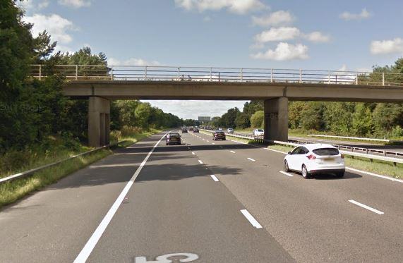 Police are appealing for witnesses after a man fell to his death from a bridge over the M55 on Friday morning.    Officers were called at around 9.40am to the eastbound carriageway, around a mile from junction one, following reports a man had been seen falling from the Sandy Lane road bridge.   ...