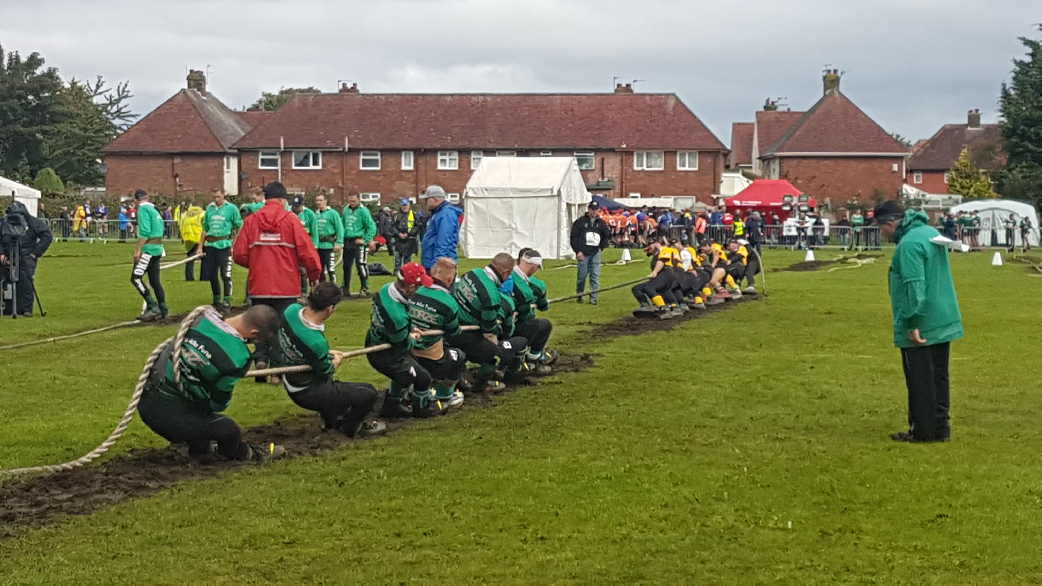 The European Tug of War Championships and World Junior and Under 23 Championships are underway at Carr Lane playing fields.    Dozens of teams are competing in the event.       ...