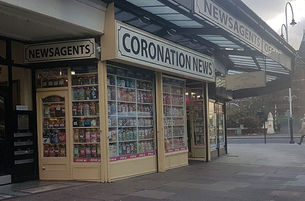 Thieves forced the shutters on the Coronation News in Coronation Walk during the night. They got away with a quantity of cigarettes and alcohol.    Anyone with information is asked to call Merseyside Police on 101 or Crimestoppers on 0800 555 111.