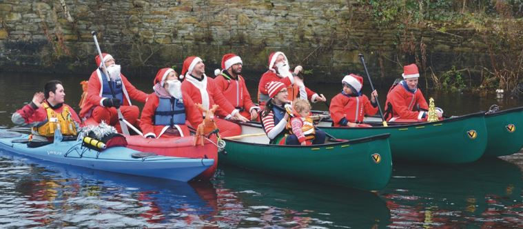 With just a few weeks until Christmas, the season to be jolly is nearly upon us!      You've heard of the Santa Dash - how about joining EnglandÂ's first coast-to-coast canoe trail with a Â'Santa SplashÂ'.    Canal & River Trust, the charity which cares for 2,000 miles of the nationÂ's canals, is...