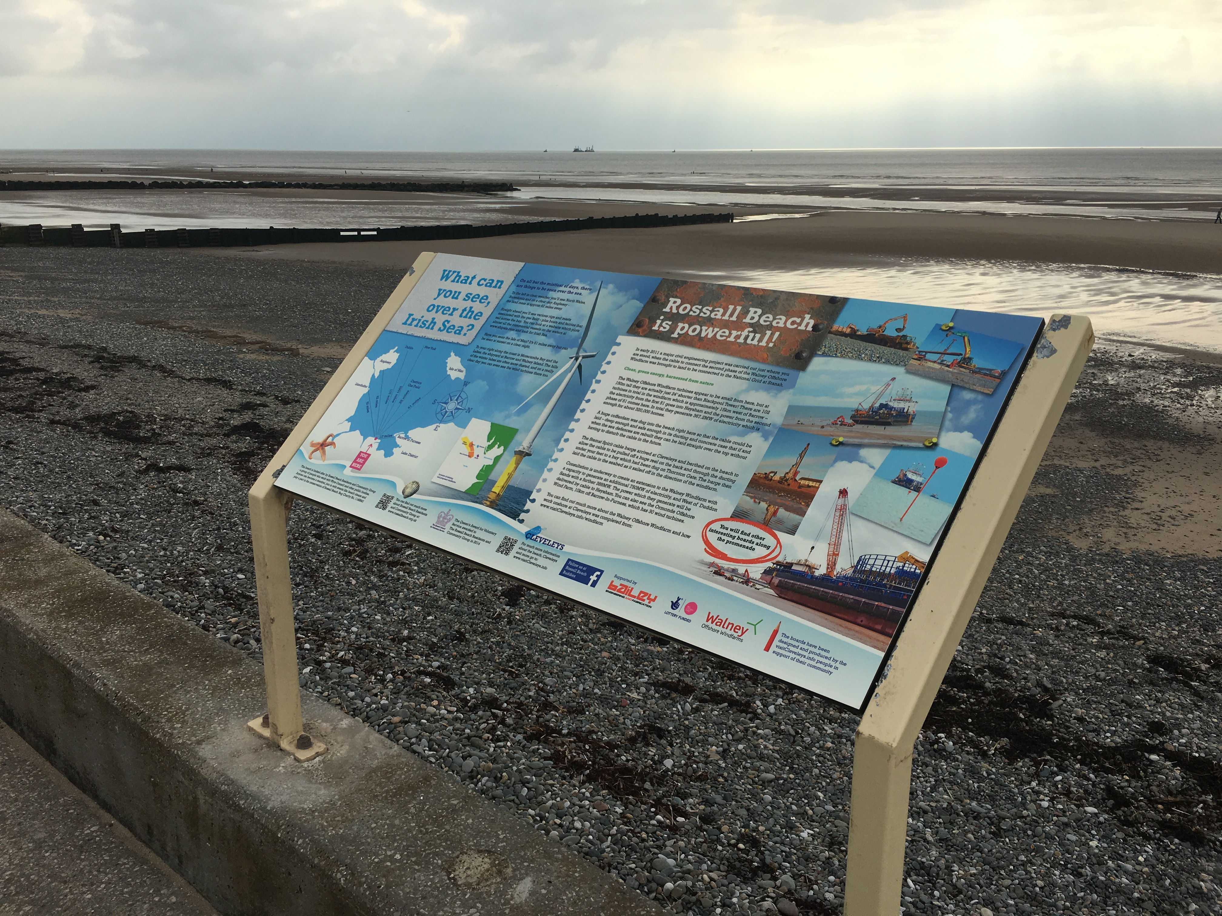 Rossall Beach Residents and Community Group at Cleveleys are looking forward to the production of five new information boards for the seafront, thanks to two grants which theyÂ've recently secured.    Their first successful award was thanks to funding from United Utilities managed by the Community...