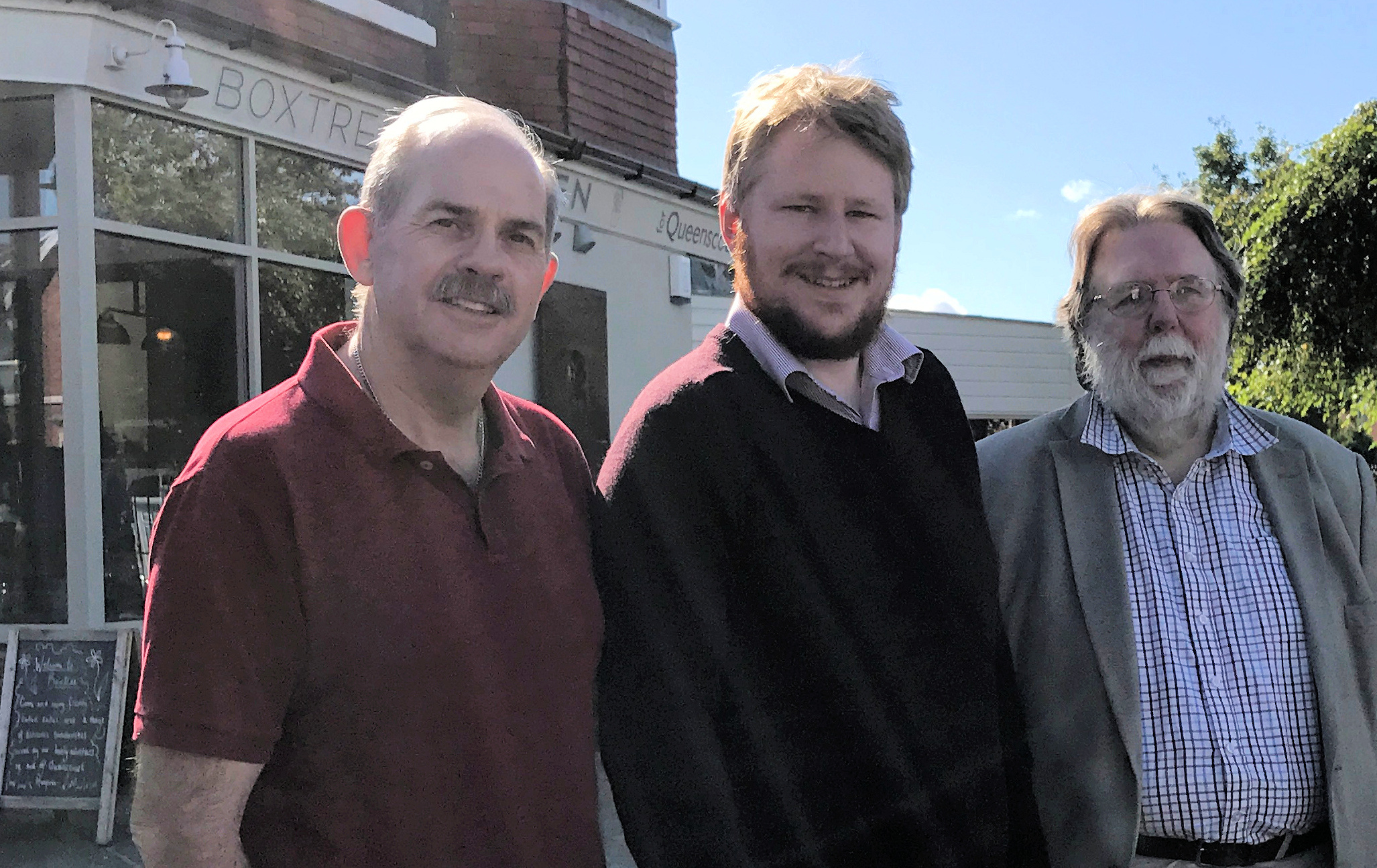 Councillors John Dodd, Daniel Lewis and Nigel Ashton and will be holding their next Advice Centre on Thursday 22nd February.    They will be available from 10.30am-11.30am at BoxTree Kitchen for Queenscourt café, Manor Road/Cambridge Road roundabout to assist residents with any local issues,...