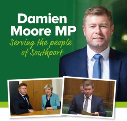 Southport 's MP Damien Moore has today just moved a 'Ten Minute Bill' in the House of Commons seeking to bring in new criminal measures in respect of postal vote fraud.    In moving his Bill, Mr Moore referrred to 'devious and unscrupulous behaviour' of some political campaigners.    Mr Moore's...