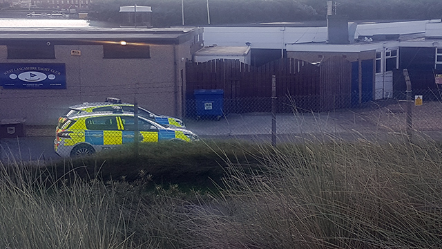 Officers from Merseyside Police were called to the West Lancs Yacht Club at approximately 10.15 this morning after the alarms were activated.    A quick search revealed that it was a false alarm.