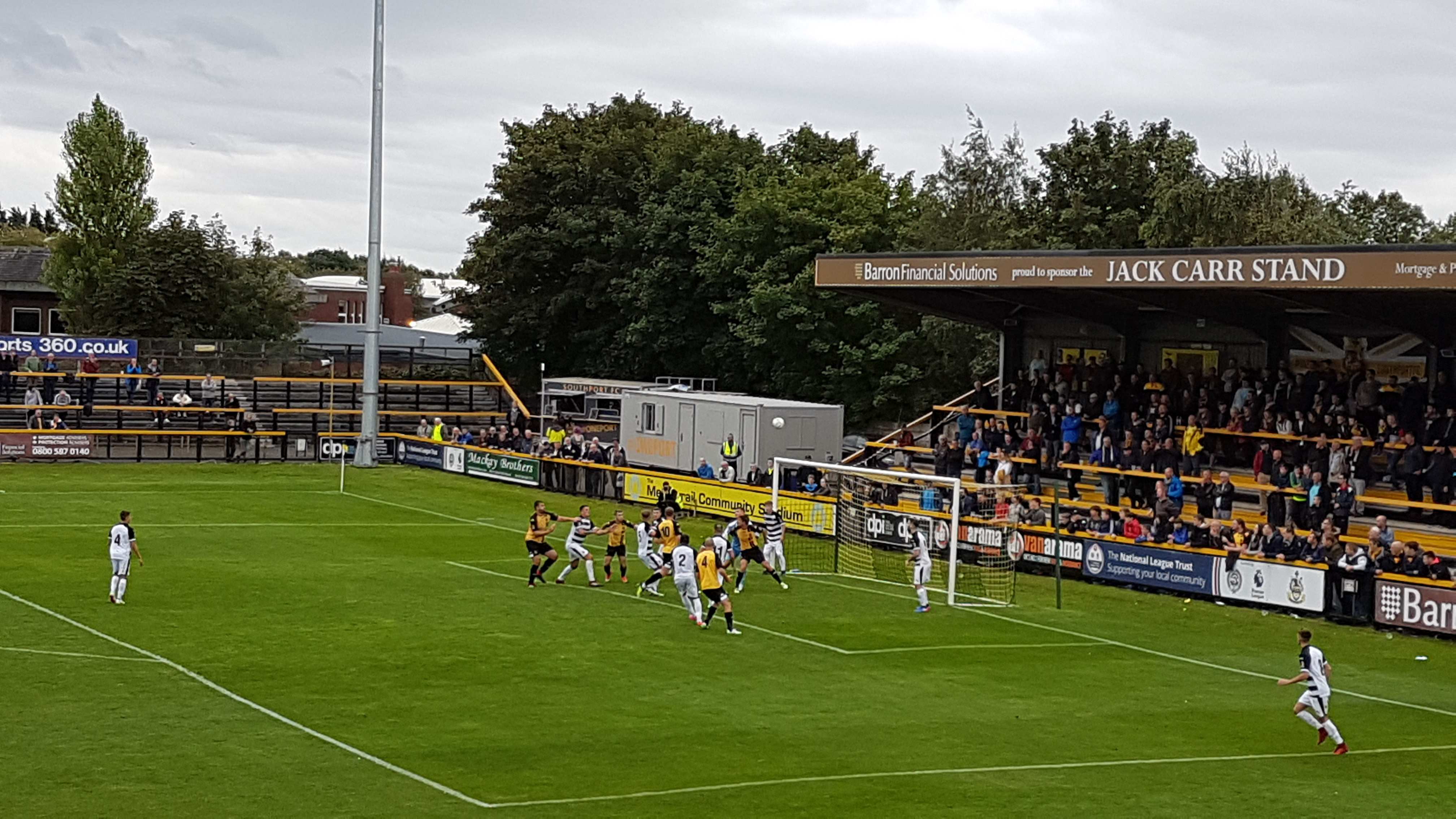 The over-riding emotion was one of frustration as the Southport players made their way off the pitch having been held to a goalless draw by Darlington.    The SandgroundersÂ' current run of one defeat from six games points to the improvements made after a tough start to the season, but they must now...