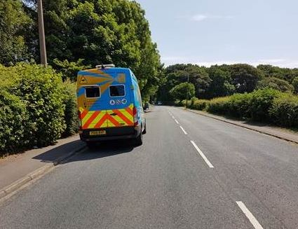 The safety camera enforcement vehicles will mostly be in Blackpool, Lytham, South Ribble, West Lancs, Lancaster, Morecambe, the Ribble Valley and Blackburn over the next few days #keepingyousafe #towardszerolancs