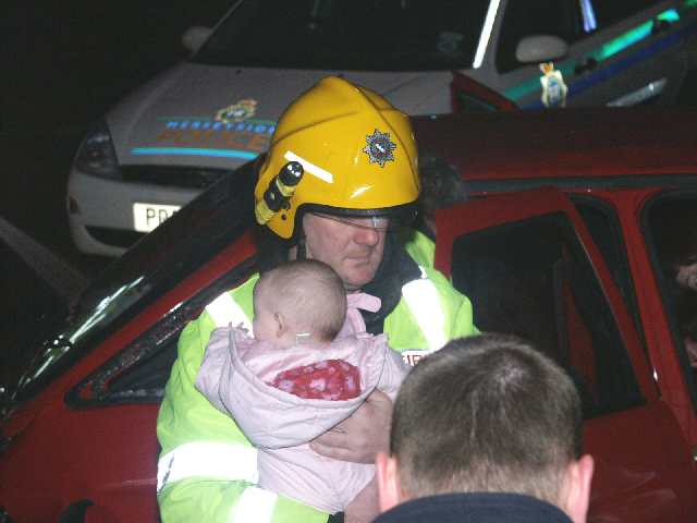 baby accident car