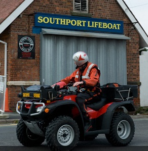 Southport quads paged by Holyhead Coastguard to search for an elderly gentleman missing on Formby beach.      The quads were stood down as they arrived at Ainsdale at 19:00, as the man had been found safe and well by his family.    CALL OUT - 15/08/17 - 18:51