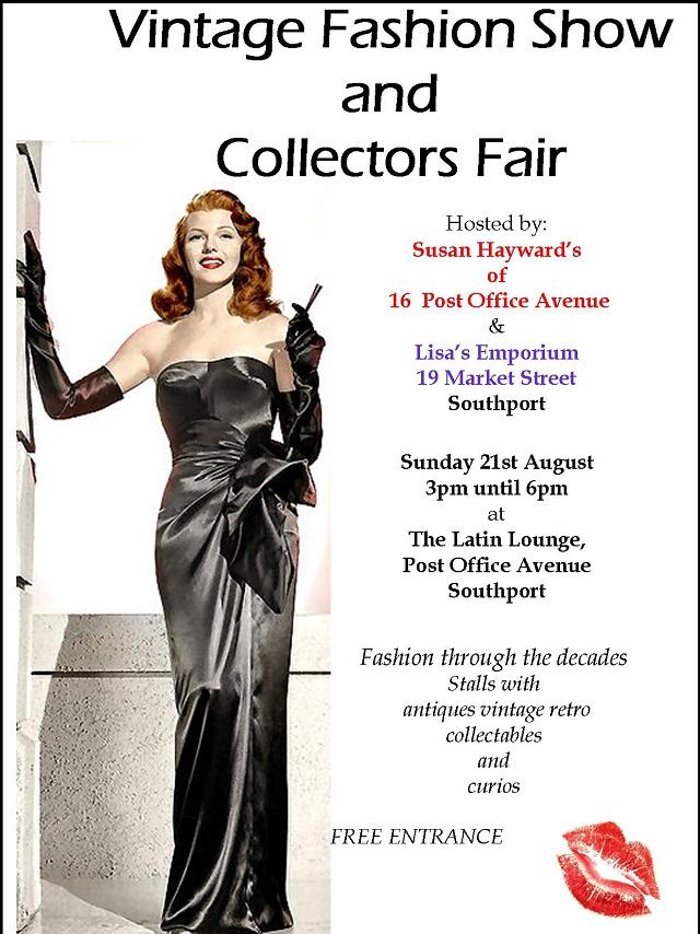 vintage fashion show and collectors fair