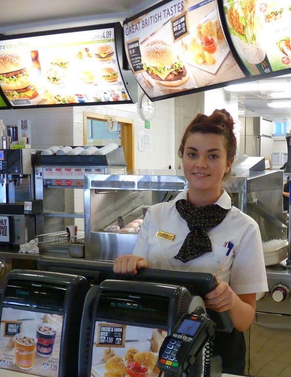 stars in mcdonald    s olympic campaignbecky stars in mcdonald    s olympic campaign