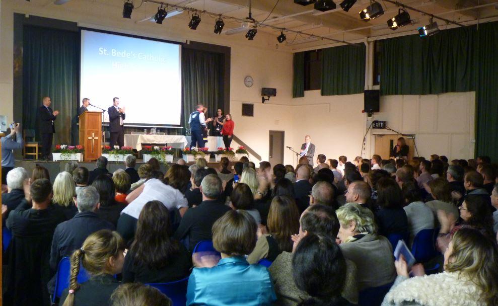 Awards evening at st bede's, ormskirk