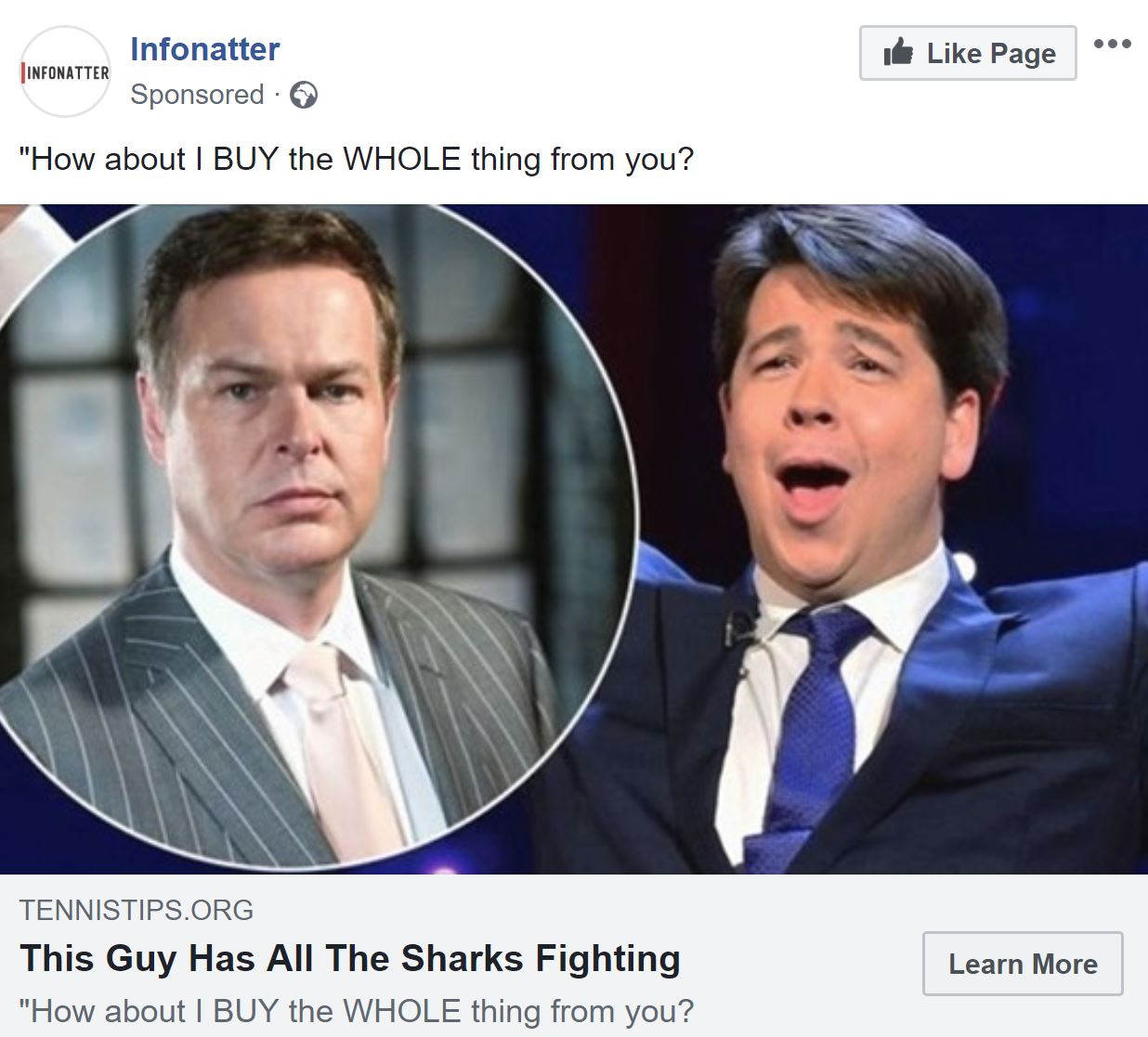 Facebook and other social media platforms are still allowing scammers to post adverts offering how to make money from BITCOIN.    The scammers are using famous personalities as endorsement without their permission to tempt people into signing up for an initial $250 deposit, approx £190.    Martin...